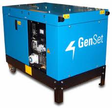 gruppo elettrogeno genset